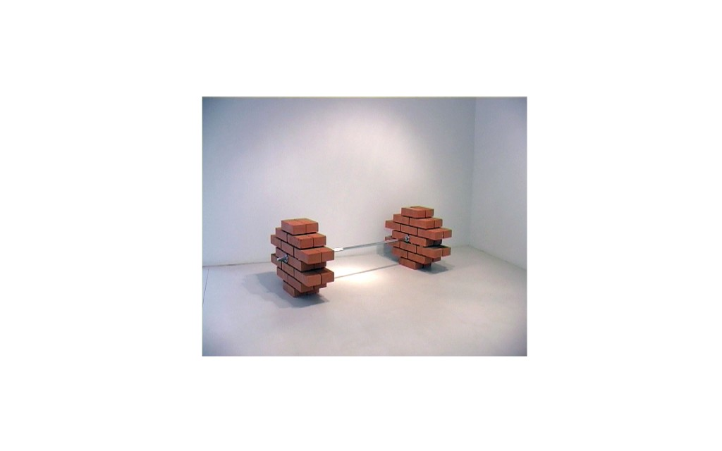 Coco / Bricks, stainless steel barrel, 2010.