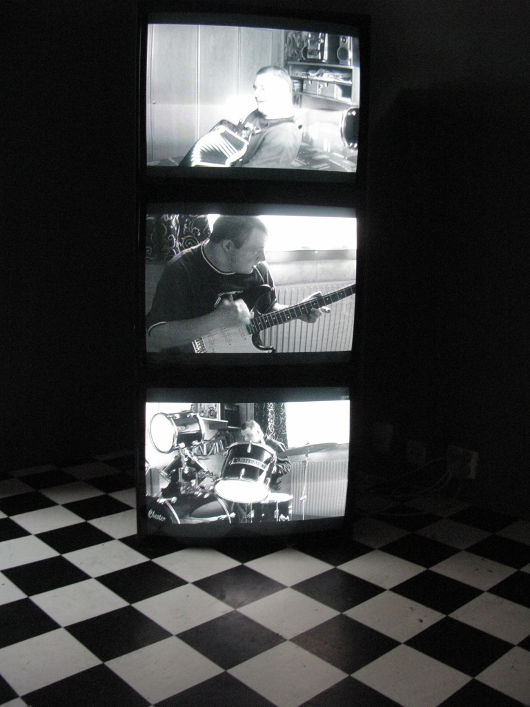One man world / Three Channel Video installation /  Bastard Gallery / 2010.