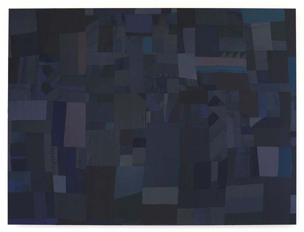 Blue velvet / 400cmX300cm / 2014